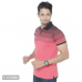 Men's Red Solid Cotton Polo T-Shirt