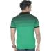 Men's Dark Green Solid Cotton Polo T-Shirt