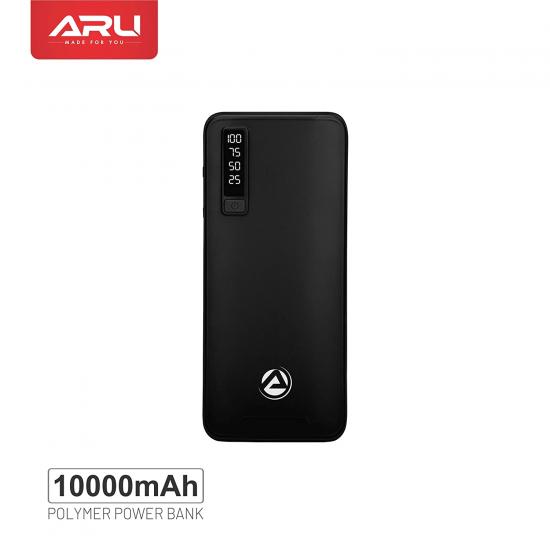 ARU APB-1100 10000mAh Power Bank- Black