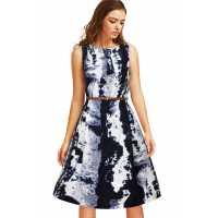 Vivo Crepe Black Exclusive Designer Dress