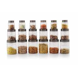 Checkers Container - 700 ml, 400 ml, 250 ml (Pack of 18)