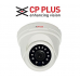 CP Plus CP-VAC-D24L2 2.4MP Night Vision Dome Camera 1Pcs