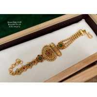 Stylish & Trendy Golden Plated Brass Bracelet