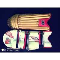 Laafi Sports Golden Cricket Batting Leg Guard