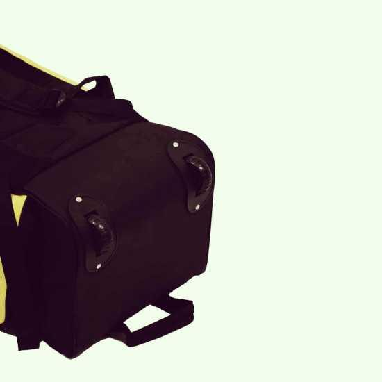 LS Wills Duffle Cricket Kit Bag (Yellow Black)