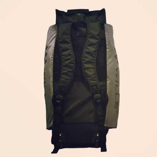 LS Wills Duffle Cricket Kit Bag (Grey Black)