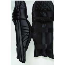 Laafi Sports Black Cricket Batting Leg Guard
