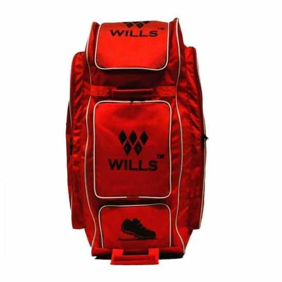 LS Wills Duffle Cricket Kit Bag (Red)