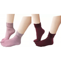 Men & Women Solid Ankle Length Socks (Pack of 4)