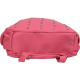Pink PU Leather Backpack for Laptop