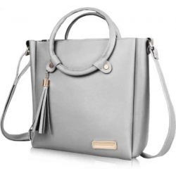 Grey Women Sling Bag