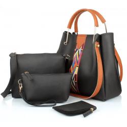 Women Black Hand-held Bag