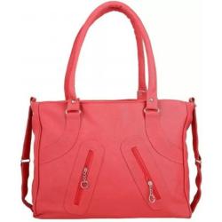 Women Red Hand-held Bag