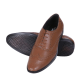 BOGGYCO Oxfords Genuine Leather Tan Formal Shoes