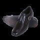 BOGGYCO Monk Strap Genuine Leather Black Formal Shoes
