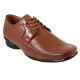 100% Genuine Faux Leather Lace Up Shoes (Tan)