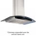 Glen Island Kitchen Chimney 6071 Touch Sensor 90cm 1250 m3/h