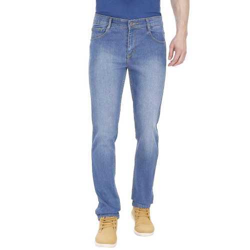 Sparky Blue Cotton Denim Jeans
