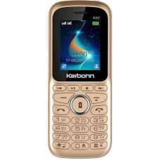 Karbonn KX2 (Gold-Black, Dual SIM)