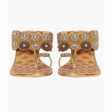 Z Plus Women's Gold Barbour Heels