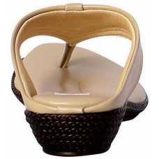 Z Plus Women's Cream Barbour Wedges Sandal