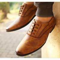 KS Formal Shoes Brown For Men