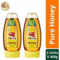 Dabur 100% Pure Honey Squeezy Pack 400g ( Buy 1 Get 1 Free)
