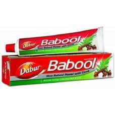 Dabur Babool Ayurvedic Toothpaste for Strong Teeth - 180 gms with Toothbrush