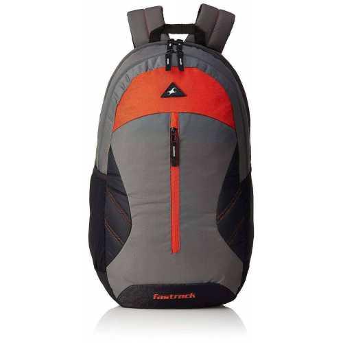 Fastrack 20.55 Ltrs Grey School Backpack