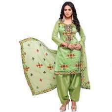 Women's Cotton Unstitched Salwar Suit Aari work
