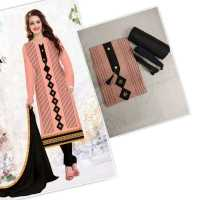 Women's Cotton Unstitched Salwar Suit