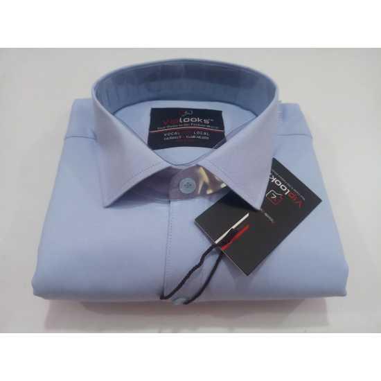 VipLooks Pure Cotton Men's Formal Shirt