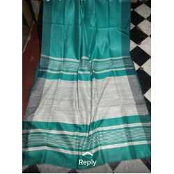 Weaving Work Tussar Ghicha Silk Saree