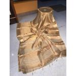 Beautiful Weaving Work Tissue by Linen Saree