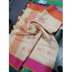 Linen by Linen Weaving Buta Designer Dupatta for Girls & Women